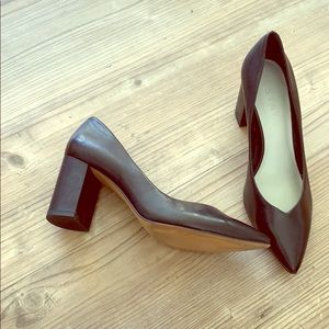 1. State Leather Block Heels size 8.5